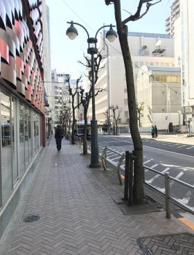 丸栄・慶雲館ビルの内装