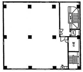 フジマビル:基準階図面