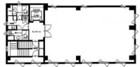 湊日本ビル:基準階図面