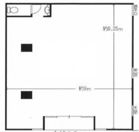 仮称)マメゾン二葉ビル:基準階図面