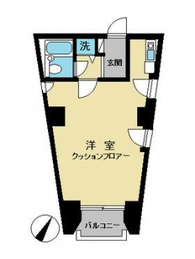 小石川ウォールズビル:基準階図面