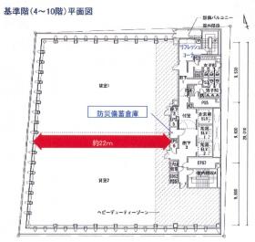 日比谷ビルディング:基準階図面