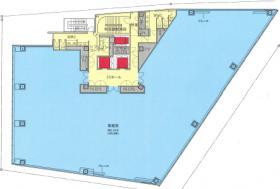 西新宿7丁目PJ(小田急柏木ビル建替え):基準階図面