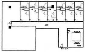 TTDビル:基準階図面