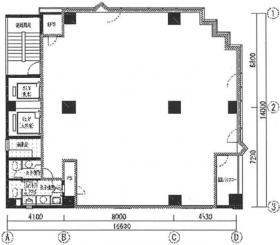 木下ビルディング:基準階図面