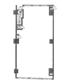 サンパーク東京銀座:基準階図面