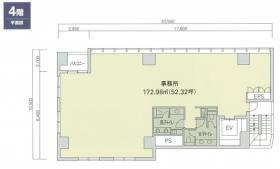 赤坂二丁目ビル:基準階図面