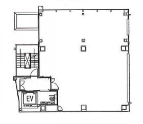 (仮称)南青山6丁目ビル計画ビル:基準階図面