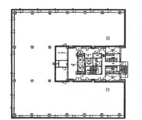 東神ビルディング6号館:基準階図面