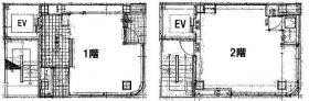 アキバあそび館ビル:基準階図面