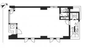 煉瓦塔ビル:基準階図面