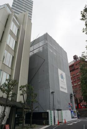 (仮称)港区六本木7丁目プロジェクトビルのエントランス