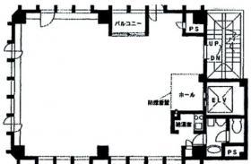 コリンズ16ビル:基準階図面