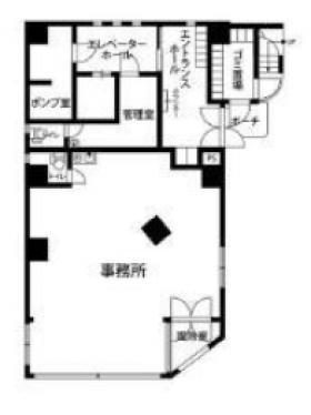 プレール・ドゥーク笹塚:基準階図面