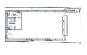 仮称)西五反田新築工事ビル:基準階図面