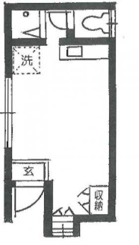 中野ハイツビル:基準階図面
