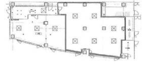 品川V-TOWERビル:基準階図面