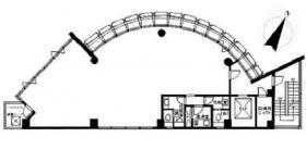 飯田橋リープレックス・ビズビル:基準階図面
