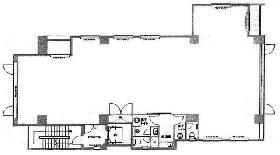 アビスタ市ヶ谷ビル:基準階図面