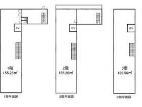 第3柏木ビル:基準階図面