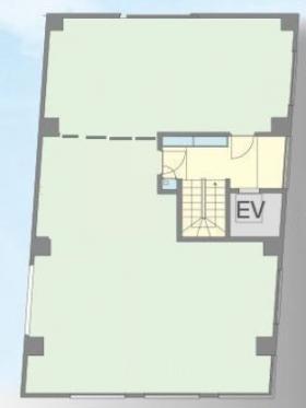 Y.C表参道ビル:基準階図面