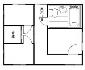藤井ビル:基準階図面