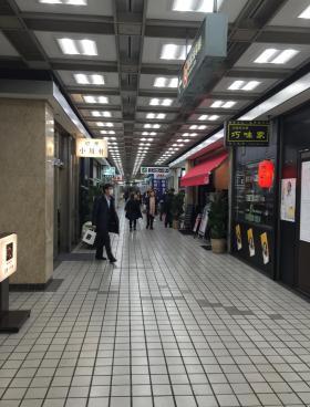 新橋駅前ビル1号館の内装