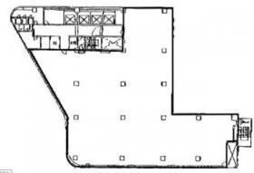 新槙町ビル:基準階図面