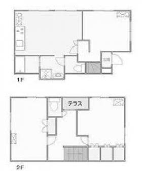 松本邸ビル:基準階図面