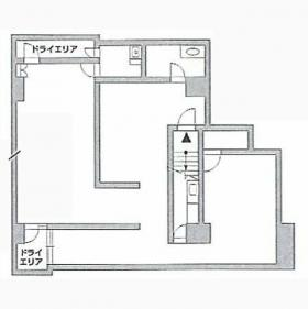 神宮前5丁目店舗ビル:基準階図面