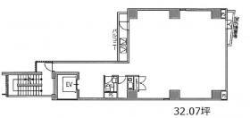 GINZA-A5ビル:基準階図面