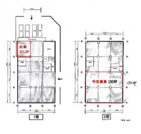 新木場若洲倉庫ビル:基準階図面