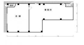 パーラーフジビル:基準階図面