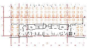 天王洲セントラルタワービル:基準階図面