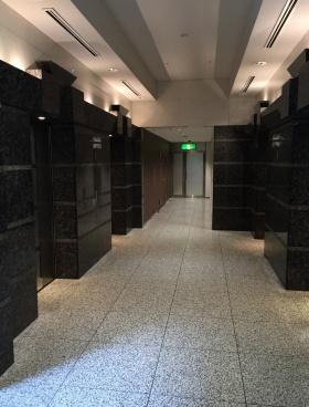 天王洲セントラルタワービルの内装