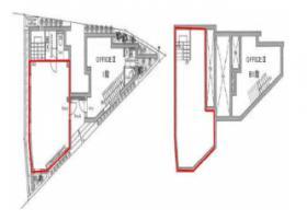 LAPiS恵比寿ビル:基準階図面
