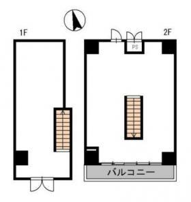 ルアナ麻布十番:基準階図面