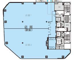 仮称)秋葉原プロジェクト 6F 103.06坪(340.69m<sup>2</sup>) 図面