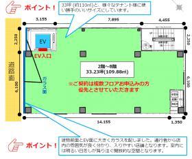 (仮)フィル・パーク五反田駅前:基準階図面