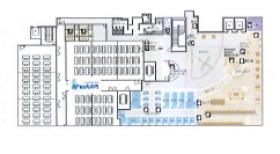 レンタルオフィス東京(日本生命丸の内ガーデンタワー):基準階図面