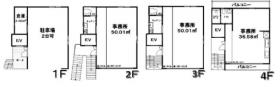 REB原宿ビル:基準階図面