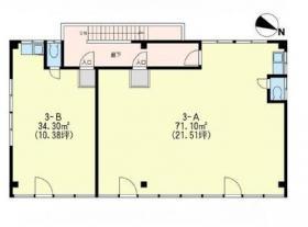 横山第3ビル:基準階図面