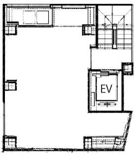Ebisu Hiroo Squareビル:基準階図面