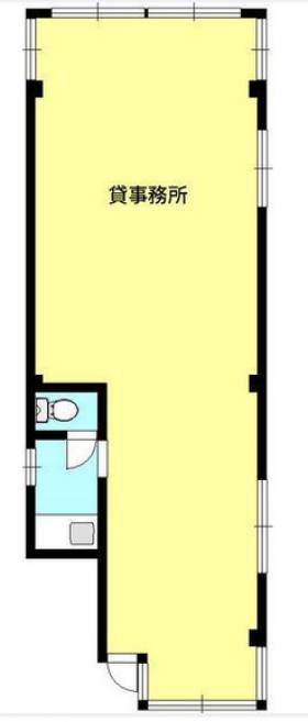 生方ビル:基準階図面