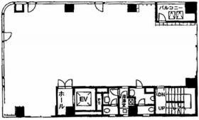 ゼネラル神田ビル:基準階図面