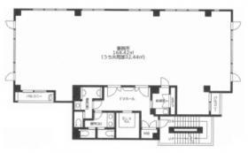 大宮大門町MⅡビル(仮称)大門町3丁目計画)ビル:基準階図面
