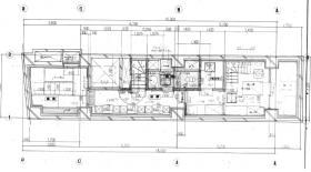 セントラルフィールド (旧:島田ビル):基準階図面