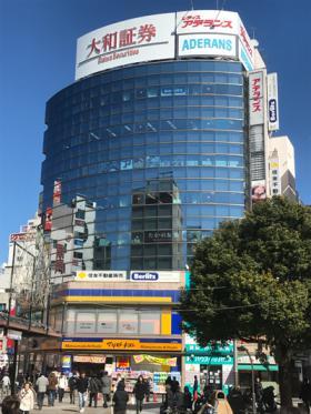 赤羽駅前ビルの外観写真