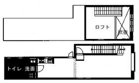 SOHO大門1丁目ビル:基準階図面