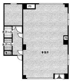 KY・BLD:基準階図面